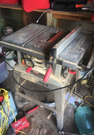 Table saw Craftsman Limited edition for Sale in Homestead, FL