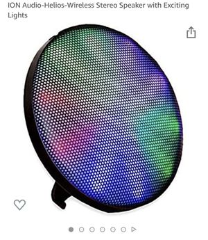 ION Helios wireless speaker with exciting lights for Sale in Oakland, CA