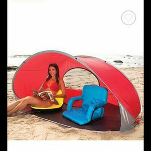 MANTA POP UP SUN SHELTER WITH ATTACHMENTS TO GROUND IT for Sale in Orlando, FL
