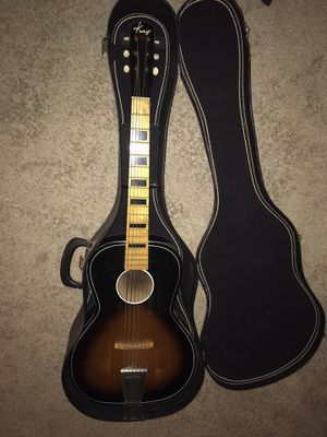 Early 1960s Vintage Kay 1160 Parlor Acoustic Guitar for Sale in San Diego, CA