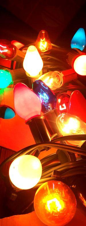 Vintage Xmas lights for Sale in Phoenix, AZ