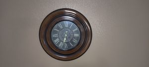 Large Brown Wall Clock for Sale in Glendale, AZ