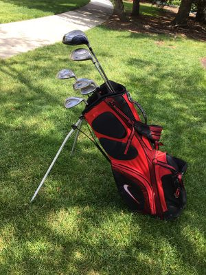 Golf clubs and Nike bag for Sale in Brookline, MA