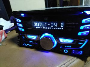 Dual Double-DIN AM/FM Tuner with CD Player USB auxiliary Bluetooth for Sale in Indianapolis, IN