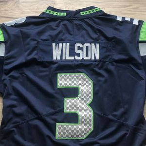 BRAND NEW! 🔥 Russell Wilson #3 Seattle Seahawks NAVY Jersey + SHIPS OUT TODAY 📦💨 for Sale in Seattle, WA