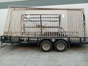 Two 8ft tall x 17 ft long heavy duty Slide gates for Sale in Lake Elsinore, CA