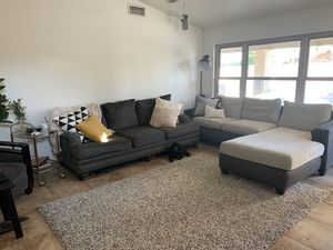 Couch & Sectional Great Condition! for Sale in Chandler, AZ