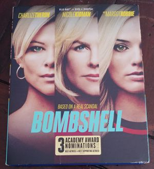 BOMBSHELL (BLU RAY + DVD) for Sale in El Cajon, CA