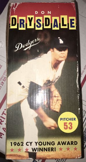 Don Drysdale Bobble Head for Sale in Los Angeles, CA