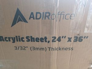 Adir Office Acrylic Sheets 3mm for Sale in Upland, CA