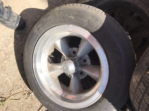 Chevy 5 on 4-3/4 bolt pattern 14 inch rims for Sale in Hemet, CA