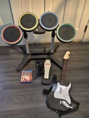 Rockband 4 PlayStation Bundle Drums Guitar Set *NEW for Sale in Los Angeles, CA