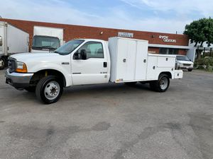 Utility truck F-550 2001 7.3 powerstroke diesel for Sale in Alhambra, CA
