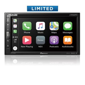 Pioneer double din Car stereo WITH INSTALLATION apple CarPlay android auto YouTube mirror on screen for Sale in San Leandro, CA