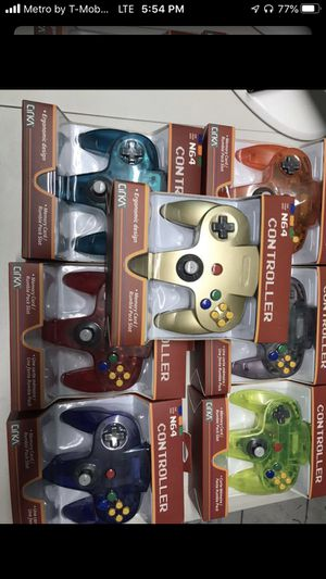 Nintendo 64 controller each $25 for Sale in Miami, FL