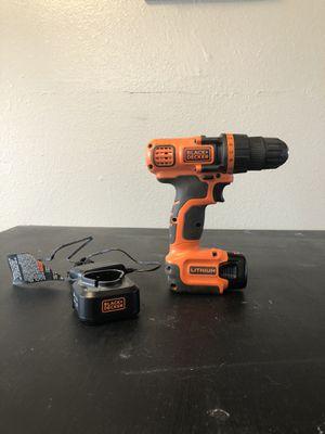 Black & Decker Power Drill 12vMax for Sale in Cedar Falls, IA