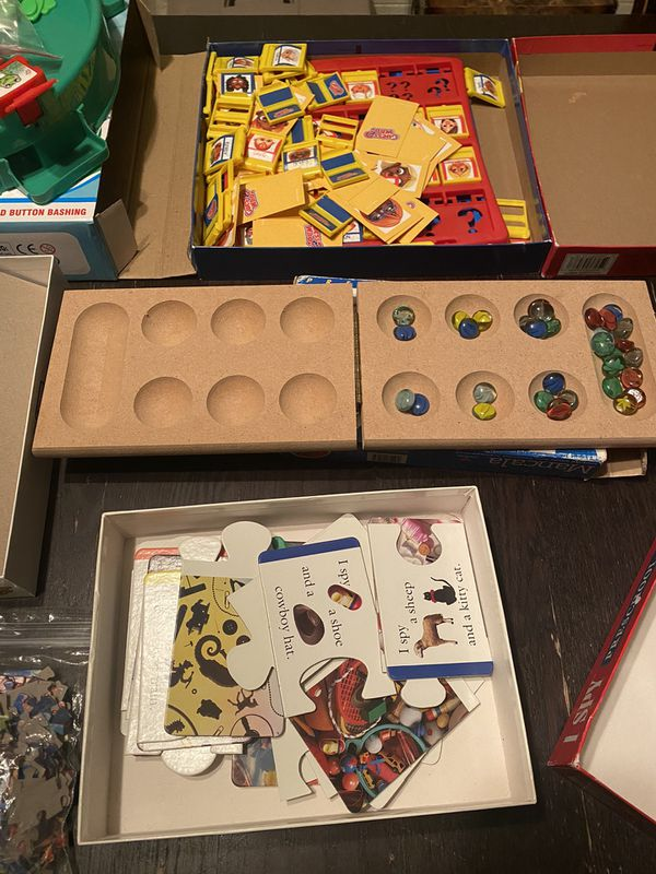 Board Games/Puzzle/Cards For Sale