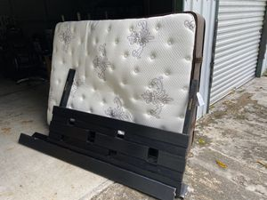 free mattress, bed frame, cube, desk for Sale in West Palm Beach, FL