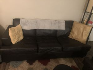 2 Piece Living room set dark brown! for Sale in Vancouver, WA