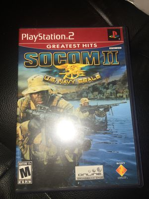 SOCOM 2 for PlayStation 2 PLAYSTATION 2 (PS2) Action / Adventure (Video Game) for Sale in Hialeah, FL