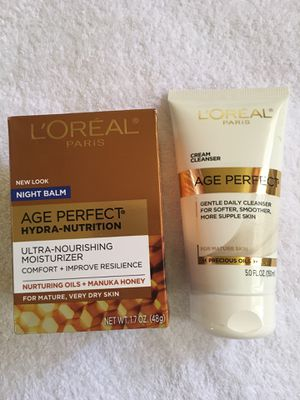 $14 for both. L'Oréal Age Perfect skin care. Price firm. Pickup only. for Sale in Las Vegas, NV
