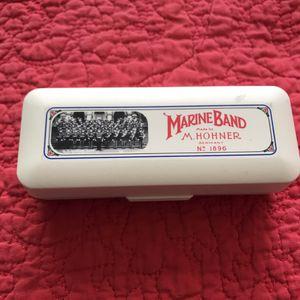 Marine Band M. Hohner Vintage BOX 1896 for Sale in Las Vegas, NV