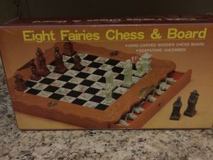 Eight Fairies Chess Board for Sale in Sudley Springs, VA