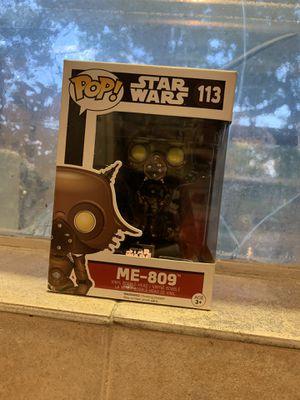 Star Wars Me-809 funko pop figure for Sale in Houston, TX