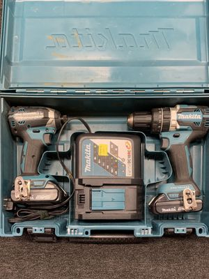 "Makita 18V 1/4"" Impact Driver & 1/2"" Drill Driver with Charger for Sale in Seymour, CT"