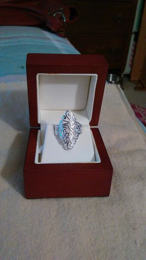 Silver plated ring. Size 7 for Sale in Richardson, TX