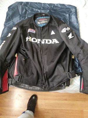 Honda motorcycle jacket size L for Sale in Staten Island, NY