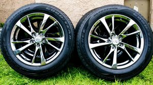 """17"""" TIRES AND RIMS for Sale in Pasadena, CA"""
