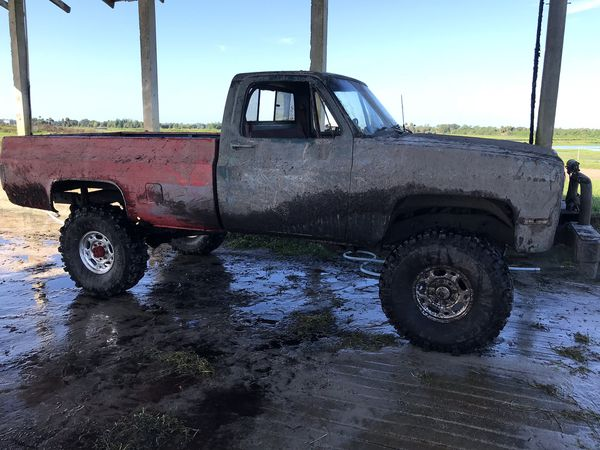 1984. Chevy. One ton. Mud truck.