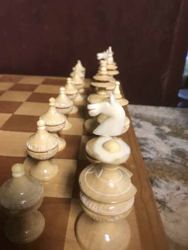 Vintage toscana Mexican chess set