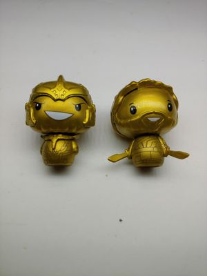 Gold pint size Heroes from Marvel Corps box lot of 2 for Sale in Santa Ana, CA