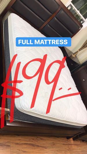 BRAND NEW PILLOW TOP MATTRESSES💯 COLCHONES NUEVOS PILLOW TOP 💯 Queen $120 ❌ $180 With Box Spring 💥💥 FULL SIZE $100 ❌ $150 With Box Spring💥 Twin for Sale in Los Angeles, CA