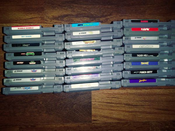 Original Nintendo NES Games