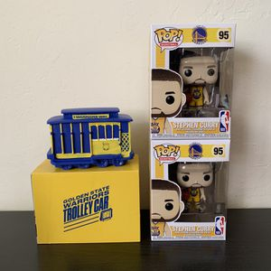 Stephen Curry Golden State Warriors Funko Pop Trolley Cable Car for Sale in Saratoga, CA