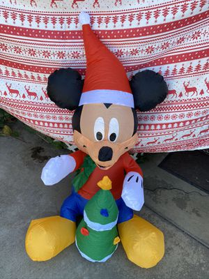 New Disney Mickey Mouse Christmas inflatable for Sale in West Covina, CA