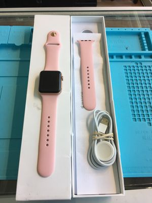 Apple Watch Series 3 42mm Gold Al Pink Band GPS+Cellular for Sale in Seattle, WA