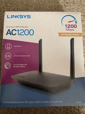 Linksys AC 1200 for Sale in Dearborn, MI