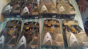 8 STAR TREK COLLECTIBLE UNOPENED ACTION FIGURES/$110 OBO/PRICE NEGOTIABLE for Sale in Blackwood, NJ