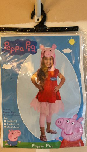 PEPPA Pig Toddler Costume 3-4T for Sale in Sacramento, CA