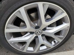VW Canyon 18 inch wheels and tires 5x112 for Sale in Seattle, WA