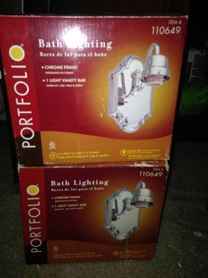 Bath lighting fixtures for Sale in Houston, TX