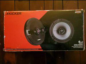6.5 Car Speakers (KSC Kicker) for Sale in Long Beach, CA