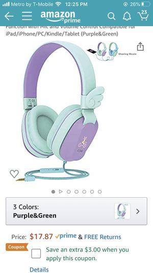 Kids headphones new in box for Sale in San Diego, CA