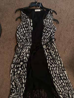 Black and white Calvin dress for Sale in Columbus, OH