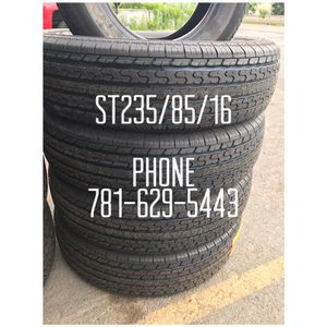 New Trailer tires on sale ST235/85/16 $480 All Four installed for Sale in Revere, MA