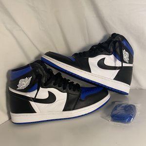 Jordan 1 Royal Toes Size 9 for Sale in Dunwoody, GA